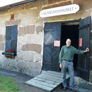 Henry Forssell vid Rönnäs skärgårdsmuseum