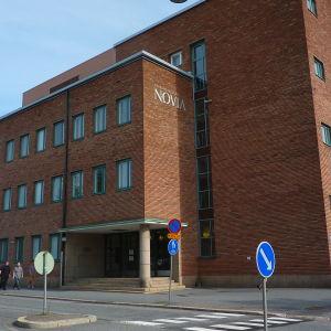 Novia på Brändö i Vasa.