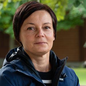 Sandra Alldén, verksamhetsledare för Sjuksköterskeföreningen i Finland
