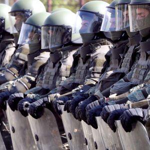 EUfor-joukot esittelevät taitojaan Sarajevossa 1, lokakuuta.