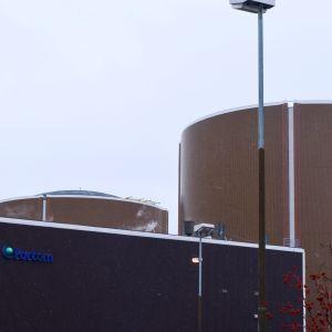 Hästholmens kärnkraftverk.