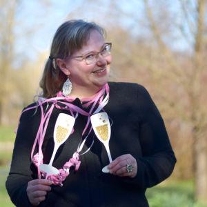 Personporträtt på Pamela Andersson
