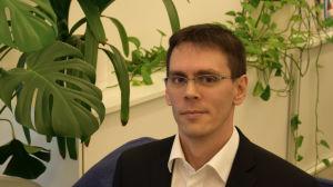 Matthias Jakobsson leder Förbundet Finlands Svenska Synskadade FSS.