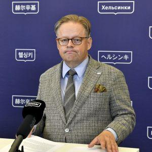 Helsingfors borgmästare Juhana Vartiainen