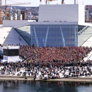 Operahuset i Oslo.