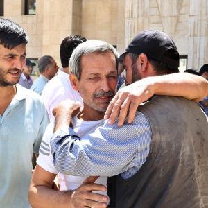 Syriska regimen benådade 430 fångar 16 juli 2015 inför Eid al-Fitr