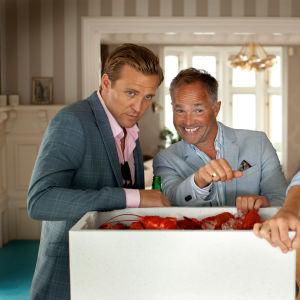 Serien Exit baserar sig på intervjuer med riktiga norska finanshajar.