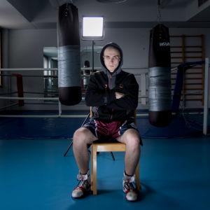 Nyrkkeilijä Mico Hakkarainen