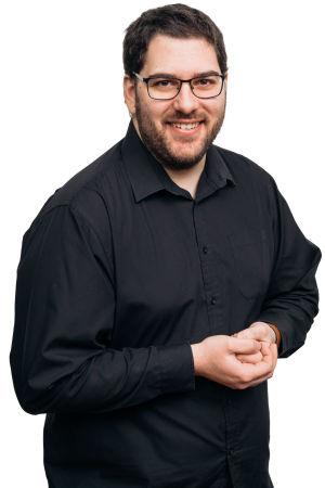 kuvassa RSO:n pasunisti Ricardo Pedrares Patino