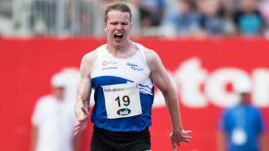 Samuel Purola, finländsk sprinter