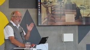 Den svenska museichefen Stefan Bohman.
