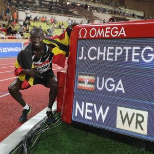 Nytt världsrekord på 5 000 meter.