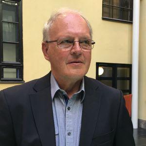 Ekonom Johnny Åkerholm, rådgivare vid Centralhandelskammaren
