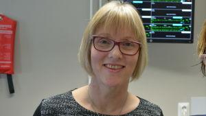 Chef för vårdarbetet Lis-Marie Vikman och chefsläkare Pia-Maria Sjöström på Malmska.