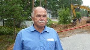 Bernhard Lundström ocj Guy Källberg, här vid grävarbeten på Rusthållsåsen, är optimistiska.