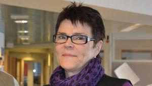 Rektorerna Nicke Wulff och Elise Kurtén