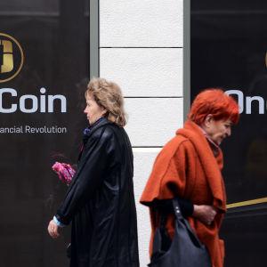 OneCoins huvudkontor i Sofia, Bulgarien.