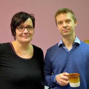 Jenni Lindroos och John Forsman.