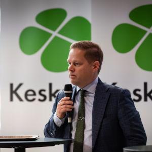 Centerns vice ordförande Markus Lohi