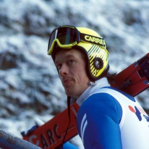 Mäkihyppääjä Jari Puikkonen 1989