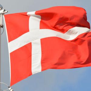 Den danska flaggan.