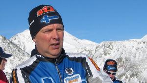 Reijo Jylhä, skidtränare.