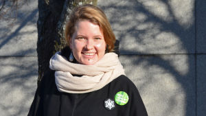 Maria Vuorelma, riksdagsvalskandidat 2015 för De gröna i Helsingfors valkrets
