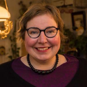 Lovisa historiska hus odförande Nina Wiklund