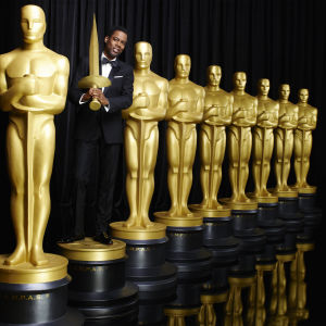 Oscar-gaalan 2016 juontaja Chris Rock