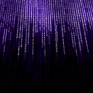 En datorskärm med rader av kod.
