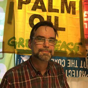 Juha Aromaa informationschef på Greenpeace
