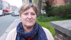 Anne Dussart från hjälporganisationen Caritas.