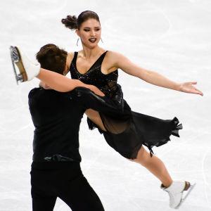Cecilia Törn och Jussiville Partanen, VM 2017.