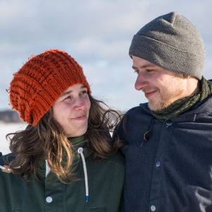 Tova Christoffersson och Mathias Smulter.