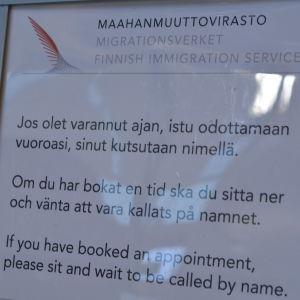 Migrationsverket i Reso