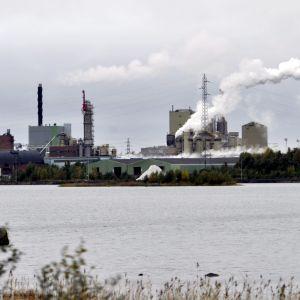 Stora Ensos pappersfabrik i Kemi, 2011.