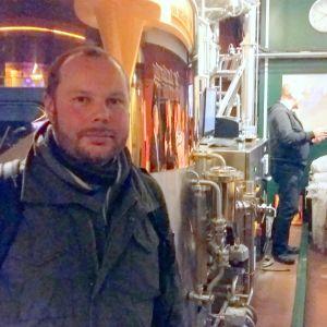 André Brunnsberg, Finlands ölförbund