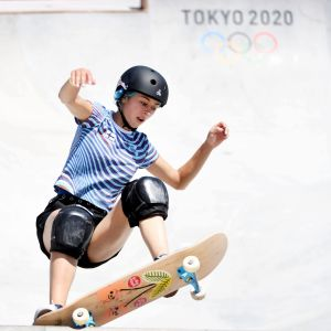 Lizzie Armanto i Tokyo.