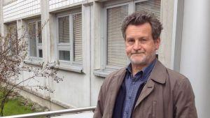 Matti Paloneva är chef för hem- och anstaltvården i Vasa