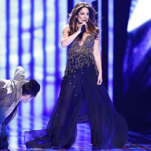 Ira Losco representerar Malta i Eurovisionen 2016.