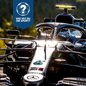 En Mercedes-bil i F1.