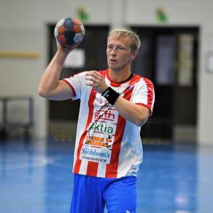 Jac Karlsson i BK-46 inför comebacksäsongen 2019-2020.