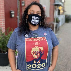 Priscilla Ortiz i hemknutarna i Jersey City.