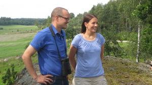 Fredrik och Helena von Limburg Stirum och Sampsa Vilhunen
