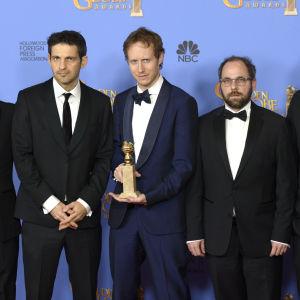 László Nemes vann golden globe gör bästa utländska film.