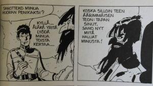 Corto Maltese -sarjakuvien hahmo Rasputin.