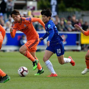 Ji So-yun spelar sin klubbfotboll i Chelsea.