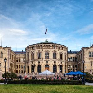 Stortinget, det norska parlamentet.