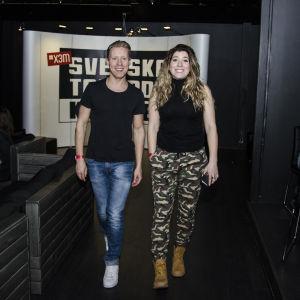 Pernilla Karlsson och Nicke Aldén