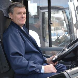 Busschaufför Kenneth Eriksson